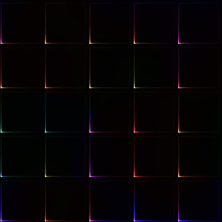 lila: Dark seamless background with light colorful corners of tiles