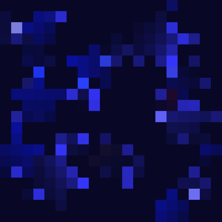 Dark blue mosaic - seamless background