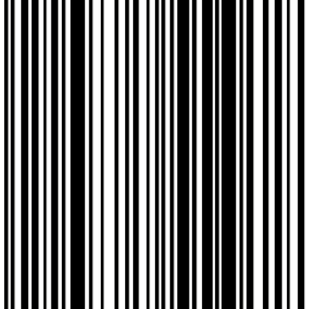 Barcode stripes - seamless pattern or background