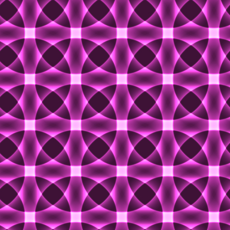 lillac: Violet transparent circles in regular order - flower pattern - semaless background