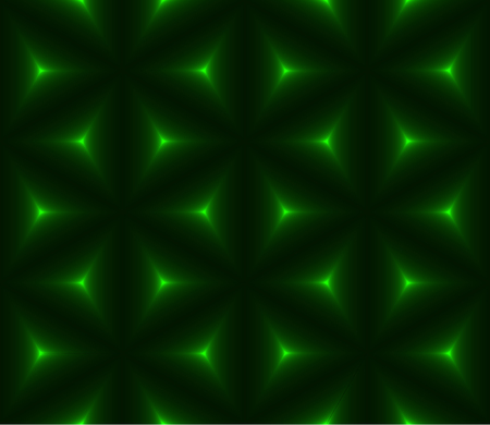 krypton: Green dark triangle low polygon seamless background