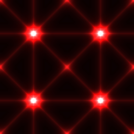 rance: Dark seamless background with shine glow laser red conected points Illustration