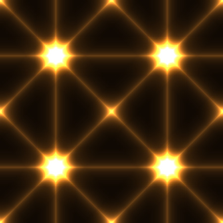 rance: Dark seamless background with shine glow laser gold conected points Illustration