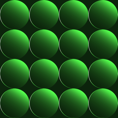 Green 3D buttons seamless background or pattern