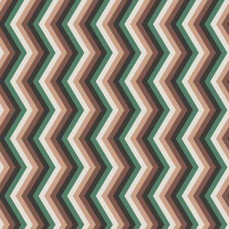 greem: Seamless background with zig-zag pattern and rustic colors. Zig zag seamless pattern in nature colors. Rustic seamless pattern with zig zag effect in ground colors.