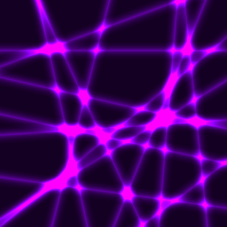 lila: Black background with purple blured laser rays.Very dark background with violet laser rays