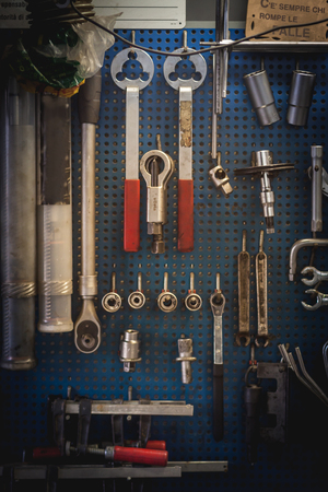 safeness: Tools from mechanical workshop