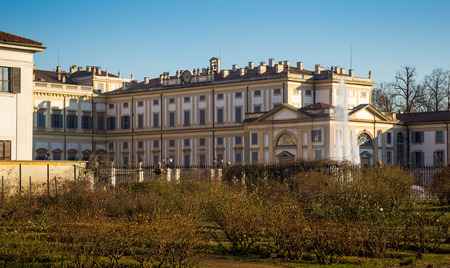 reale: Monza, Villa Reale, Italy. Kings palace. Lombardy Editorial