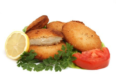 breaded meat Stock Photo - 6105228