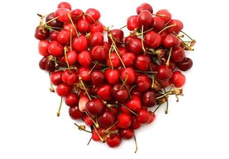 cherry heart photo