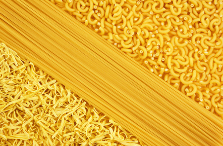 mouthwatering: mouth-watering variety of pasta for cooking dinner