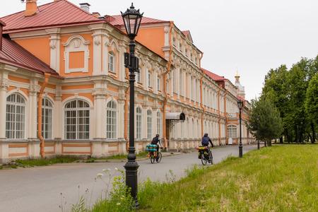 Trinity Lavra of St. Sergius in Saint Petersburg Stock Photo