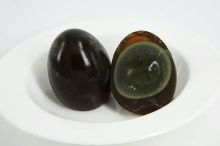 preserved: Century Egg (Black Egg)