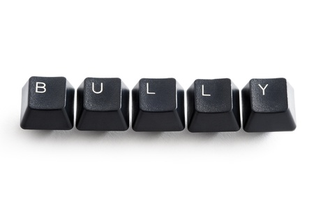 computer keys spelling the word bully Stock Photo - 13604885