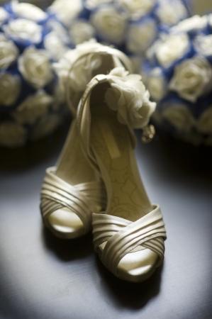 high healed wedding shoes