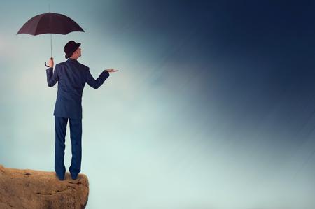 economic forecast outlook concept