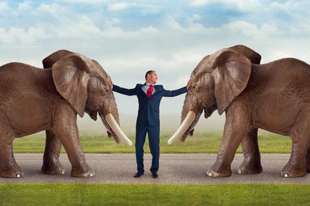 conflicto: resolución de conflictos concepto de negocio