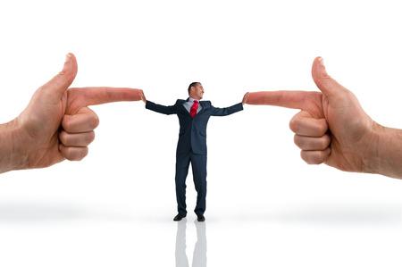 businessman accusation concept 版權商用圖片