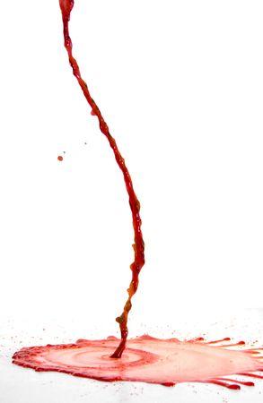 christ blood: Spilling Wine