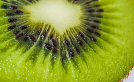 freshest: Slices of kiwi fruit Stock Photo