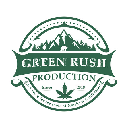 Production de santé de cannabis de marijuana rétro