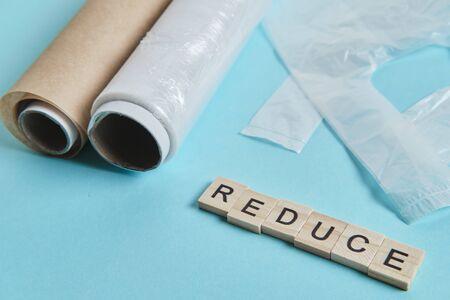 Zero waste principle. Plastic free lifestyle, reusability promotion