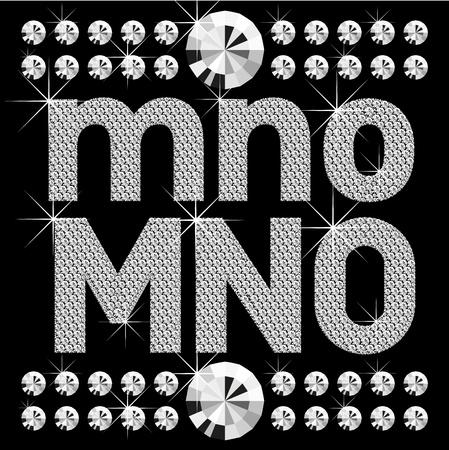 write abc: conjunto de vectores de letras de diamante y n�meros grandes y peque�os