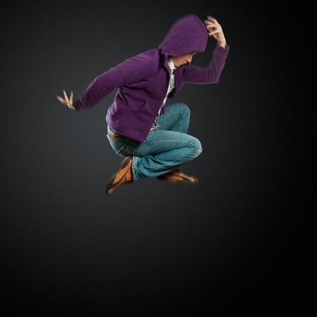 male street dancer, dance like michael jackson photo