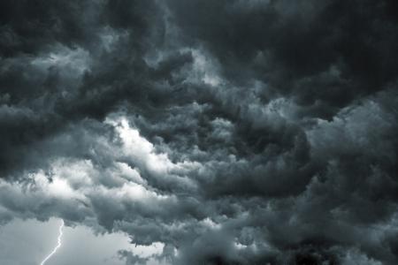 Ciel avec des nuages ??de tempête Belle, comme l'apocalypse