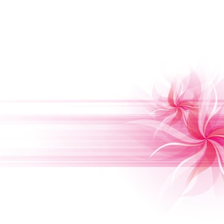 Abstract background with flowers and spase for your text Stock Vector - 17477654