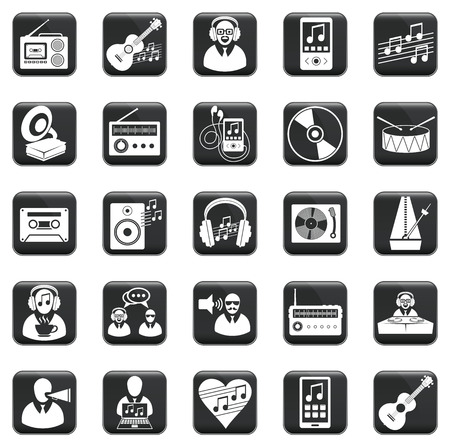 Vector set of business icons, symbols and pictograms Stock Vector - 22236563