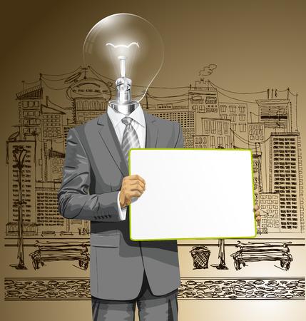 Idea concept.  Vector