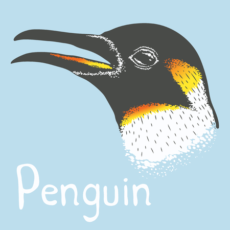 antarctic: Penguin vector illustration concept. Illustration of cute antarctic penguin