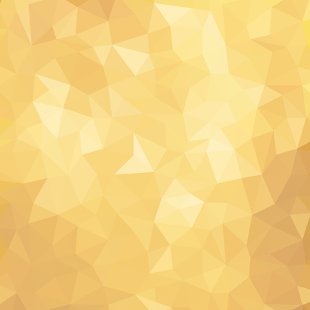 Golden Poly Background. Vector Polygon Abstract modern Polygonal Geometric Triangle Background. Modern low poly abstract halftone triangular background