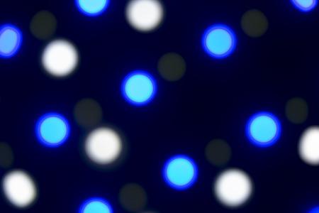Led Licht Schoenen : Verschiedene farbige led leuchten unscharf geschossen um einen