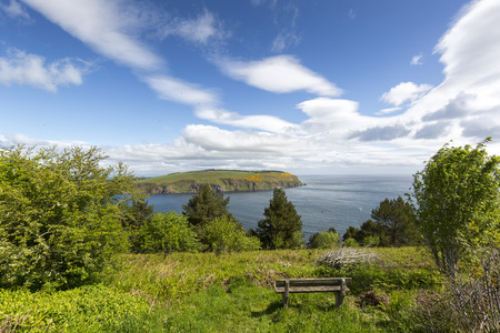 river scape: View from Sutors of Cromarty, Scotland Stock Photo
