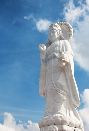 Guanyin statue  photo