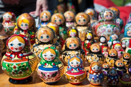 muñecas rusas: Rusia matroska muñecos