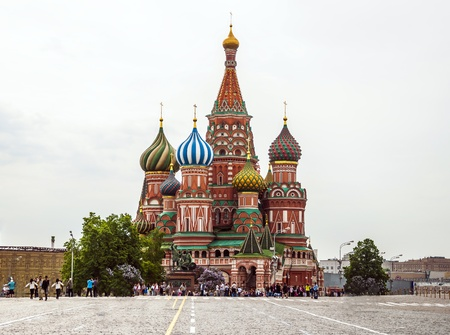 St  Basil , Moscow Stock Photo - 14303461