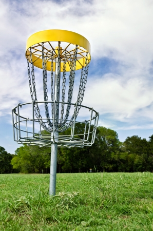 tree disc: Disc golf hole
