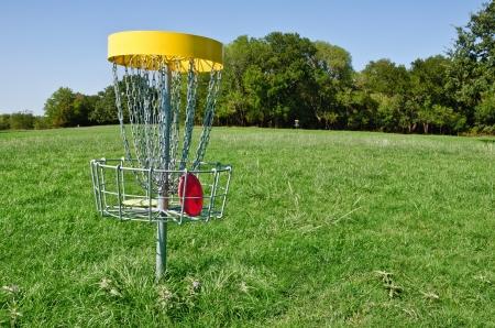 disc golf: Disc golf hole