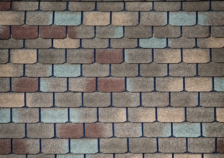 Shingle roof pattern for textured background Archivio Fotografico