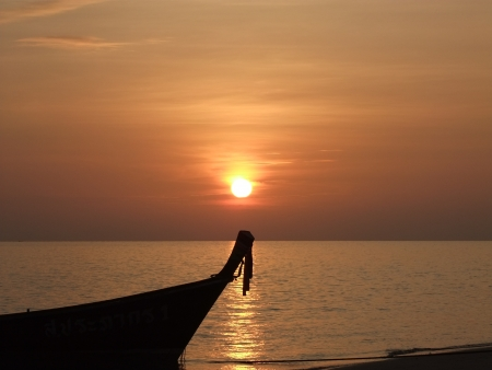 Sunset Thailand photo