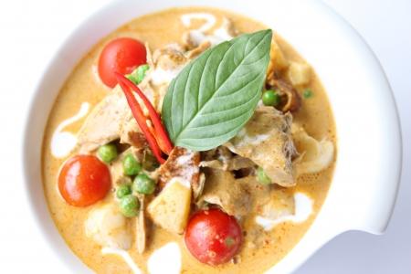 Red curry tailand Banco de Imagens