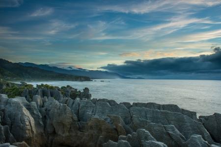 Ocean west coast, South island, New Zealand  Stock Photo - 17270608