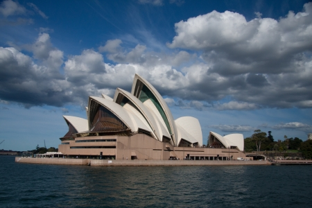 Sydney-June 2009   Opera house the landmark of Sydney city