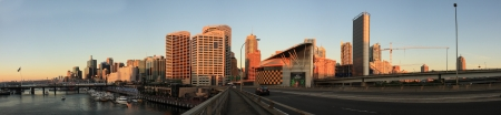 centrepoint tower: SYDNEY, NSW AUSTRALIA-MARCH 20   Panorama sunset at Darling harbour Editorial