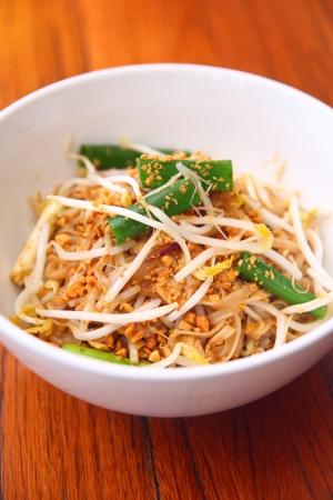 quick snack: Pad thai, Thai signature dish