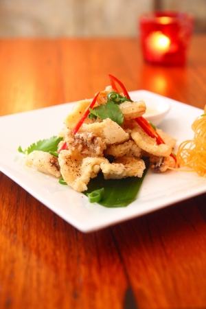 Salt and pepper squid  photo