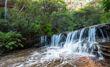 Waterfall in NSW AUSTRALIA  photo